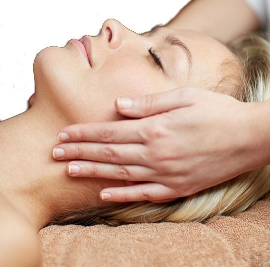ont i huvudet efter massage